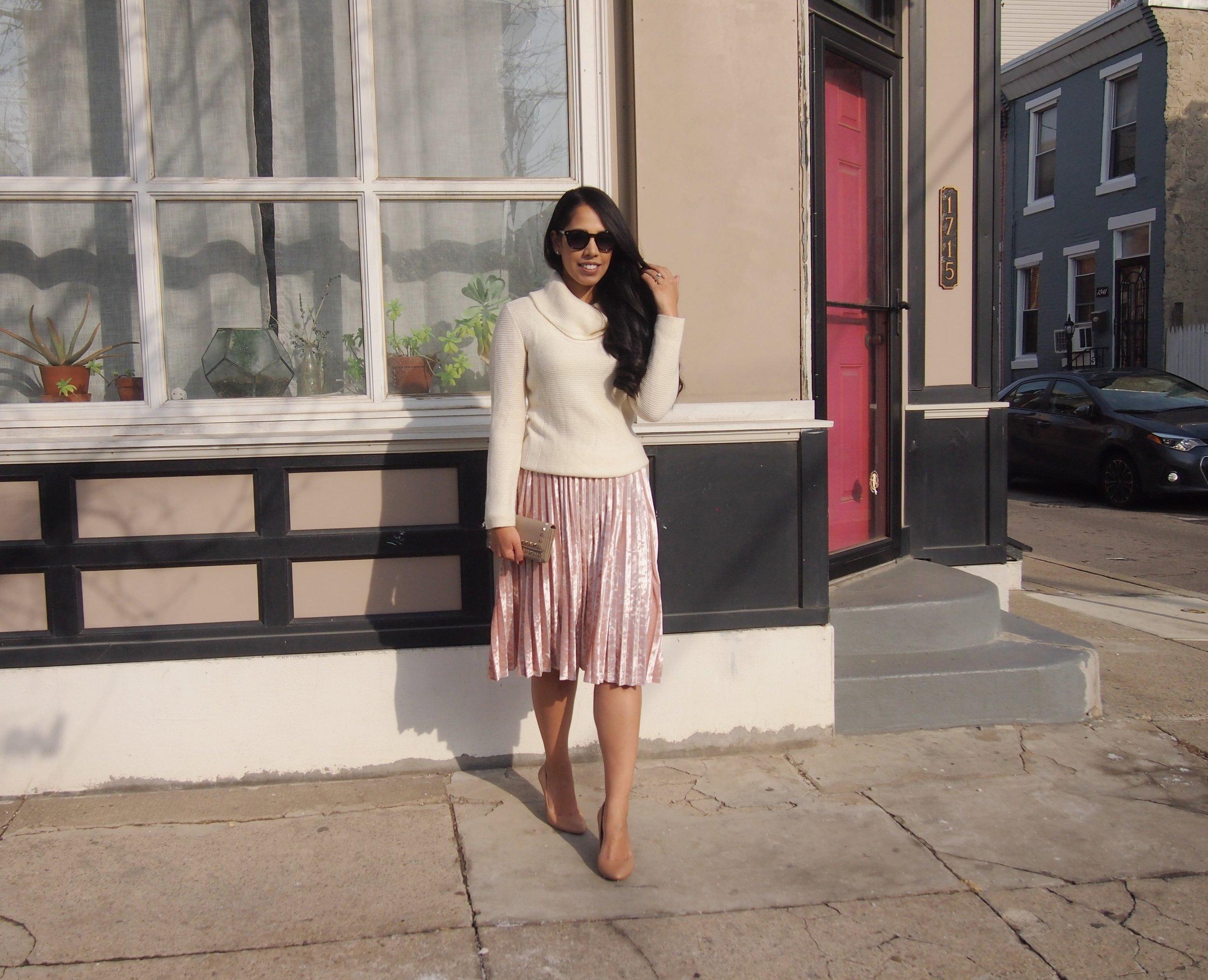 blush-velvet-skirt-under-$20