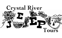 Crystal River Jeep Tours is located in Marble, Colorado, where the pavement ends and the beauty begins. CRJT was established in 1951 and ranks among the oldest adventure tour operations in the state. Take one of our guided tours to historic Crystal City and the Crystal Mill, experience the breathtaking views and wild flowers along the Lead King Basin road or the valley panorama from the top of Sheep Mountain. Overlook the Yule Marble Quarry from Treasure Mountain, or experience the Devils Punch Bowl at the foot of Schofield Pass.