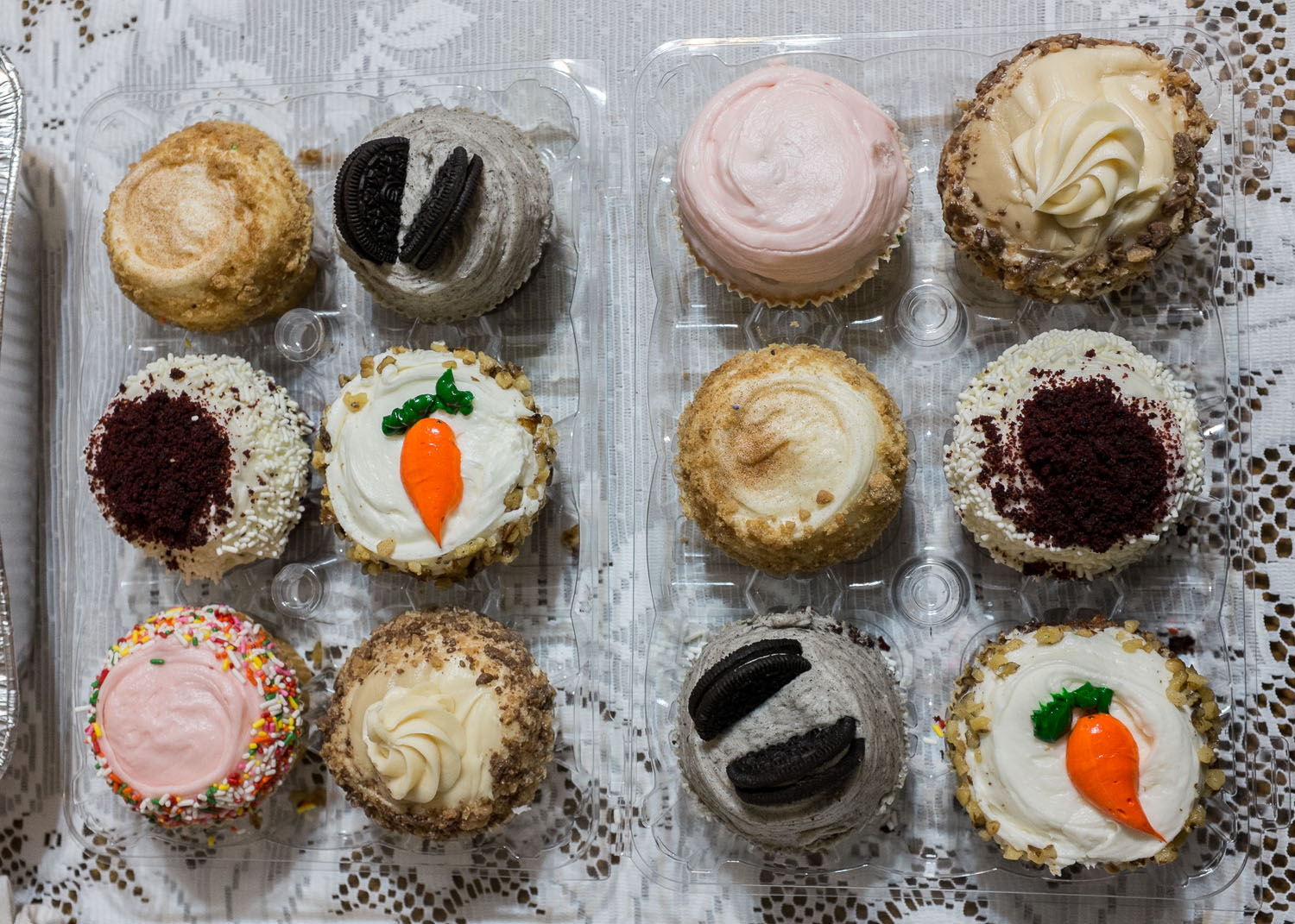 Cupcakes from Crumbs Bake Shop in Beverly Hills