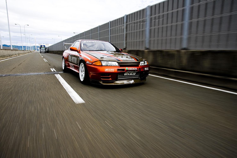 Final Motion R32 GT-R in Osaka, Japan