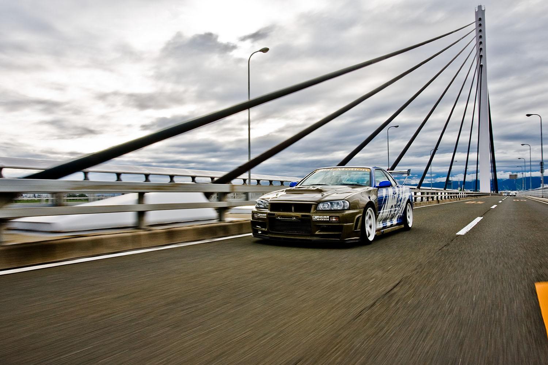 Final Motion R34 GT-R in Osaka, Japan.