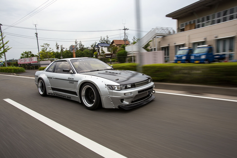55Motors S13 in Yokohama, Japan.