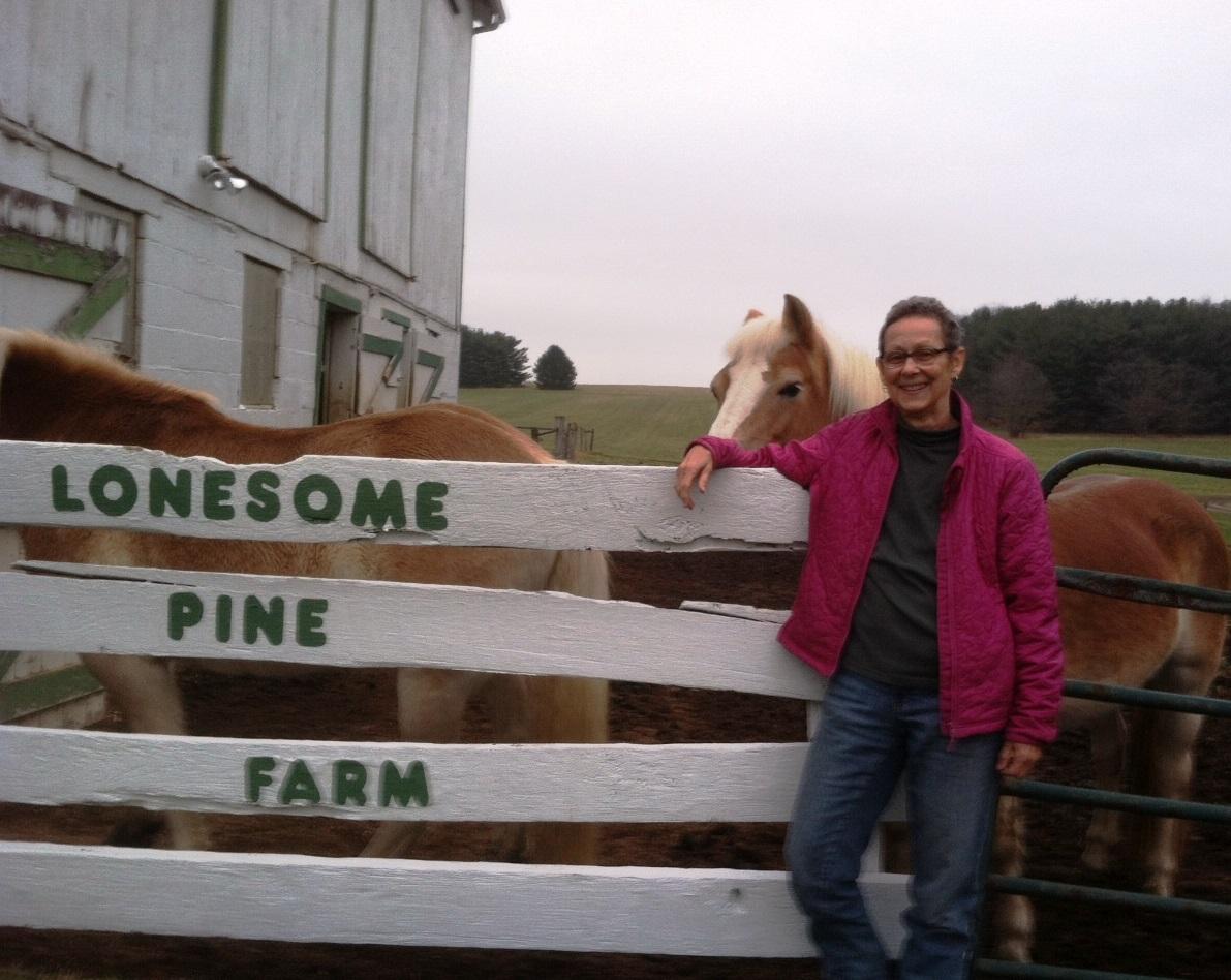 Sally Gamauf at Lonesome Pine Farm