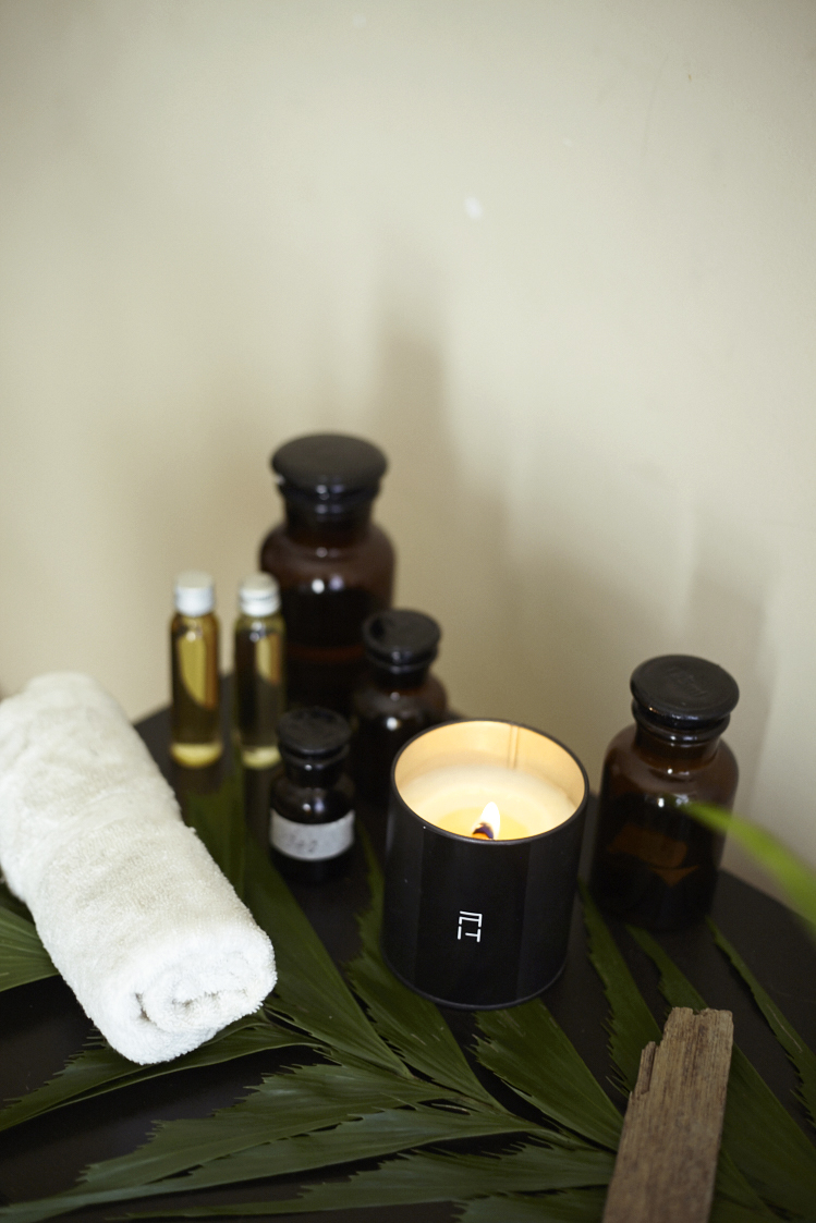 / Massage Oil Candle Therapy - / Unite the powers of mind, body, and spirit.
