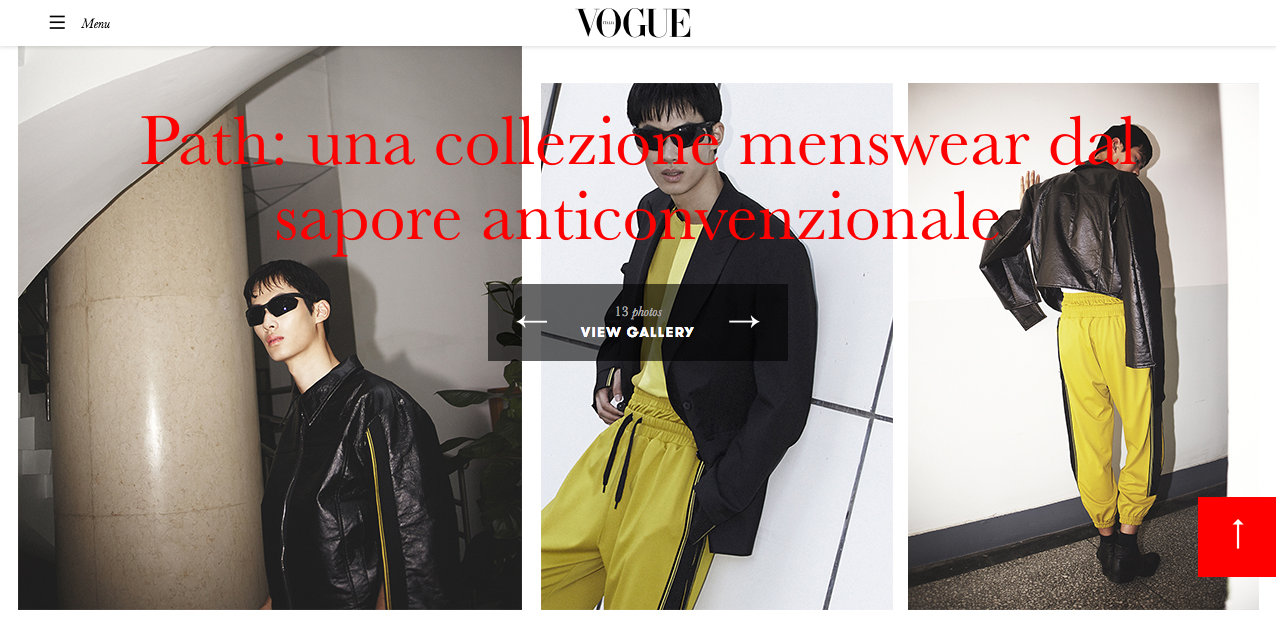 PATH in Vogue.it