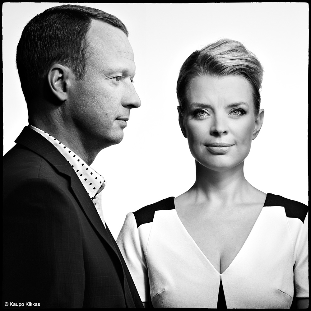 TV hosts Marko and Grete