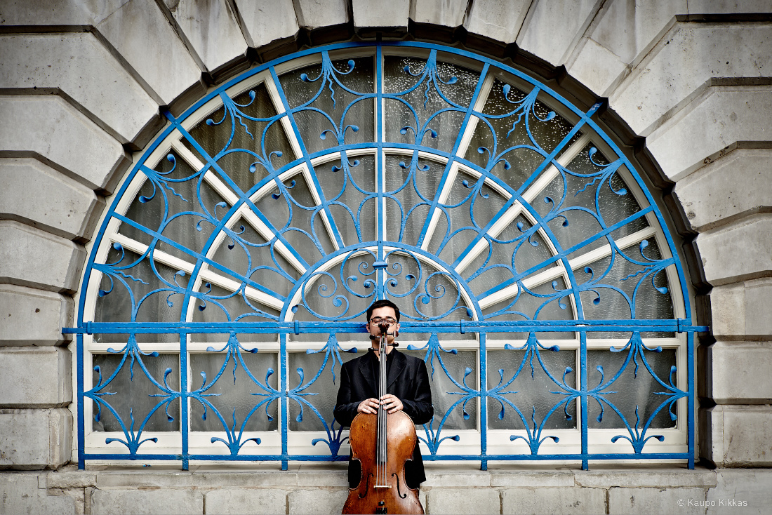 Cellist Michael Petrov