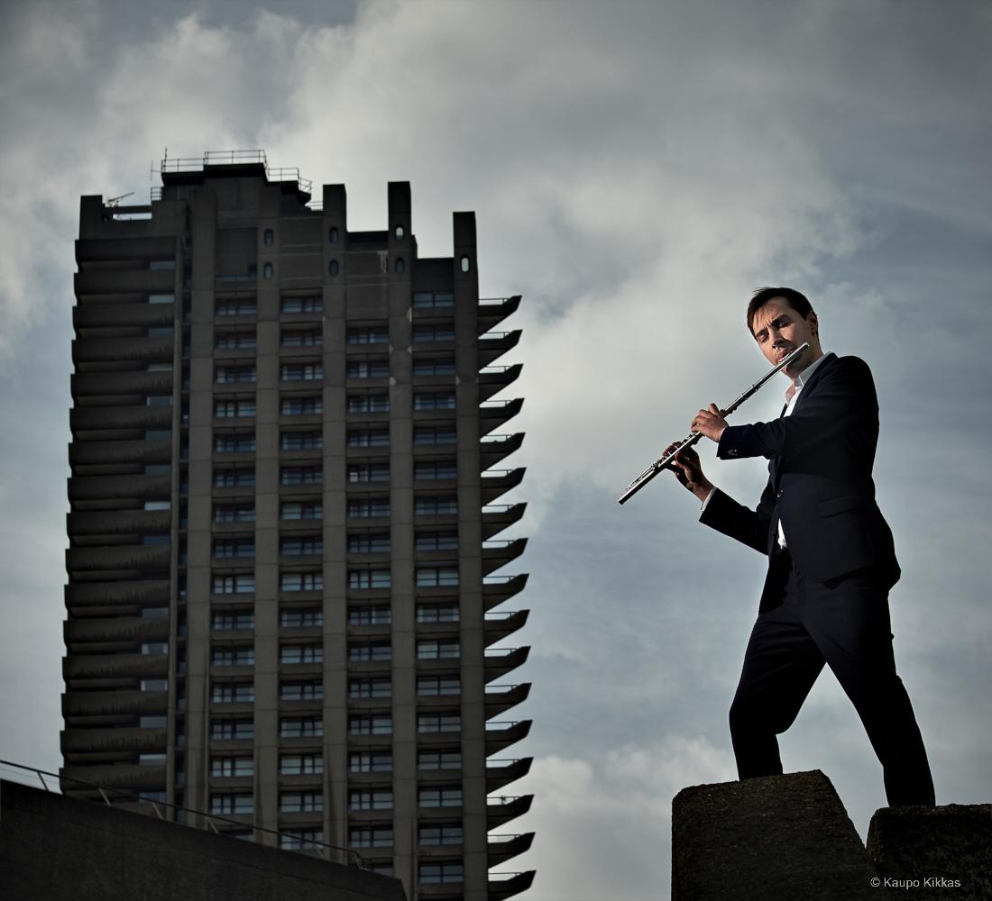 Flutist Adam Walker