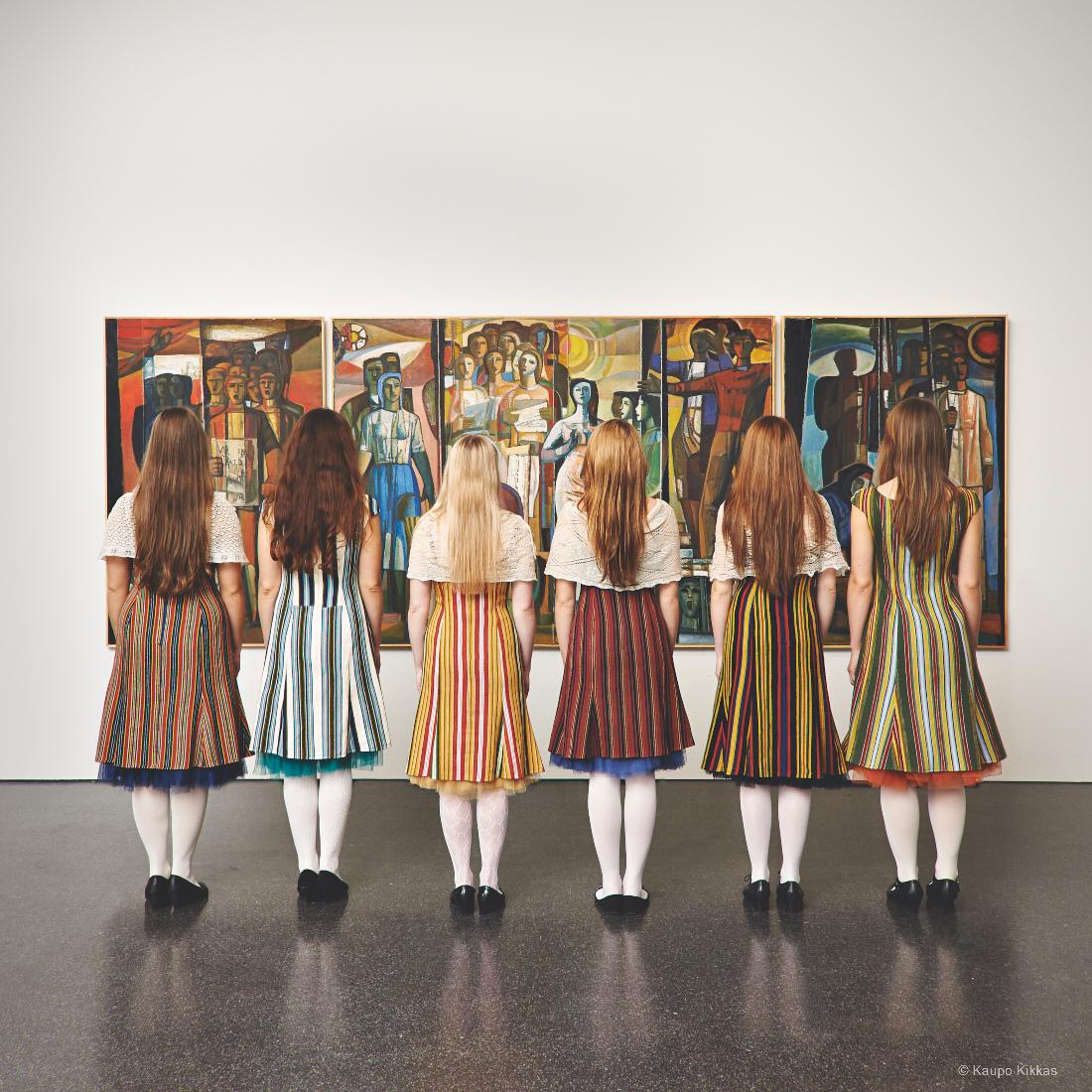 Estonian TV Girls choi