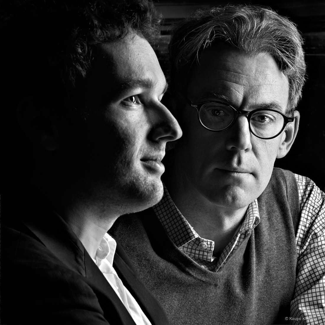Composer Eugene Birman and libretist Scott Dieal.