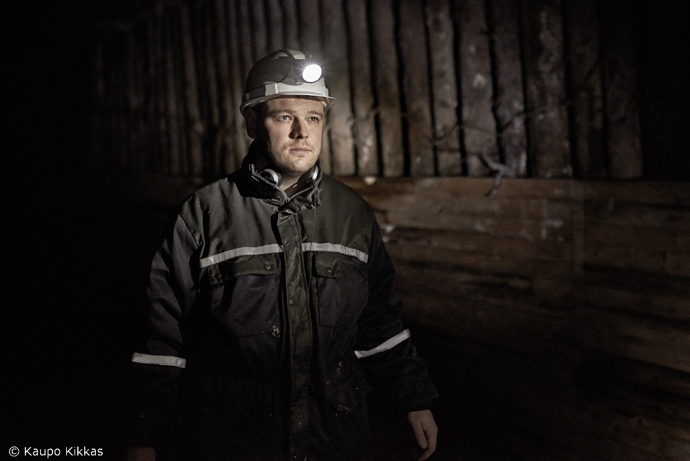As a miner