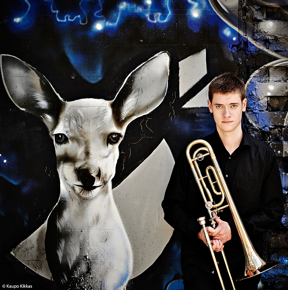 Trombonist Peter Moore
