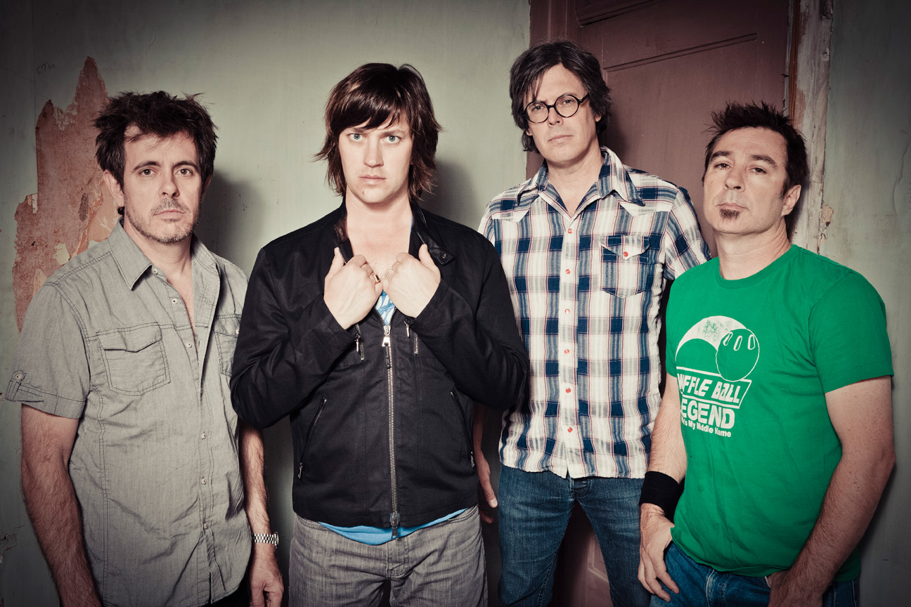 Old 97s play 1997's  Too Far to Care  at the 9:30 Club tonight. Miller is second from the left.