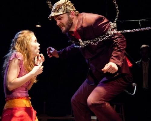 Sara Dabney Tisdale and David Zimmerman play half-human half-siblings.
