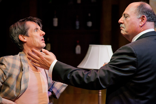 Christopher Henley and Brian Hemmingsen as Spooner and Hirst.