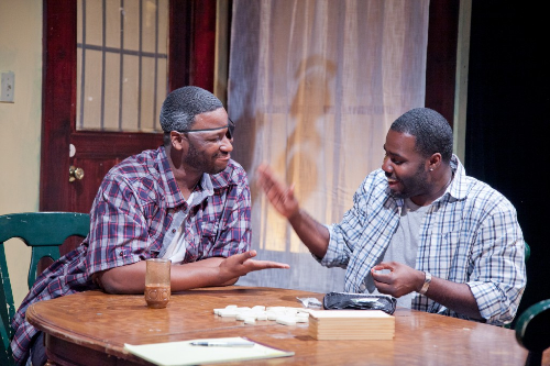 G. Alverez Reid and Jacobi Howard in  Broke-ology