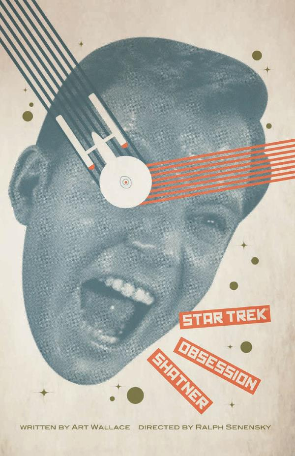 OBSESSION! One of Juan Ortiz's posters for each of the 80 episodes of  Star Trek,  the original series.