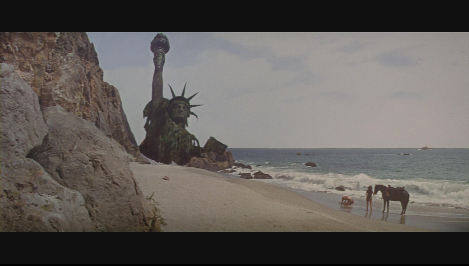 1968: Humanity learns the location of the  Planet of the Apes.