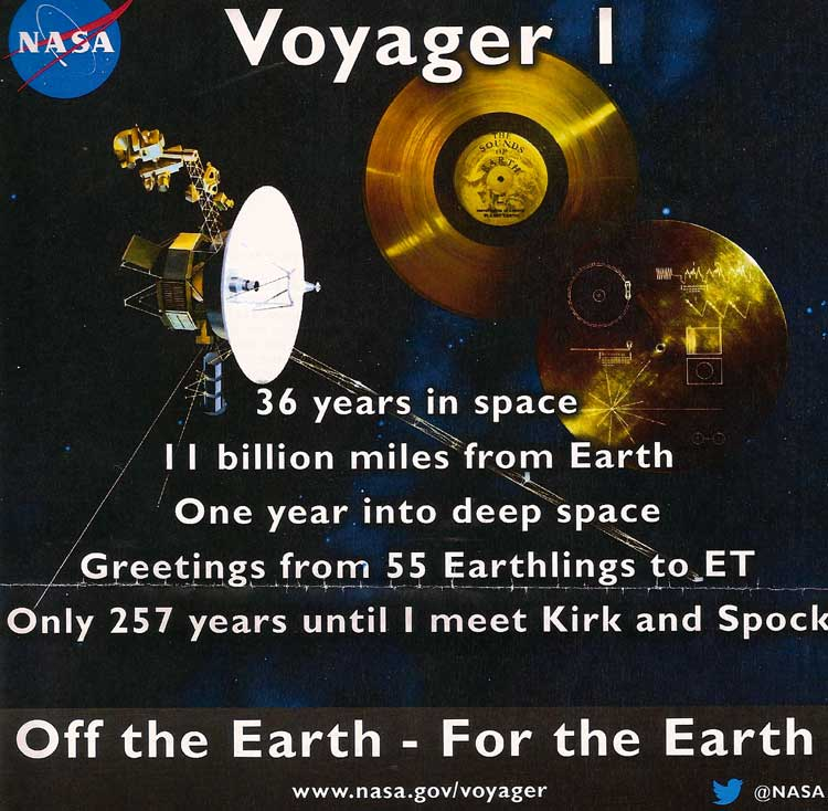 I visited Goddard just hours after NASA's historic announcement about Voyager I.