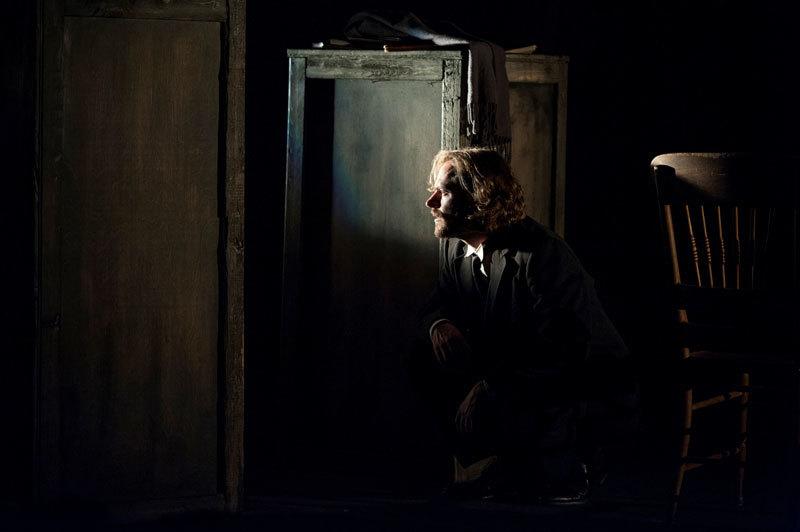 Matthew Keenan gets scared. (Cameron Whitman)
