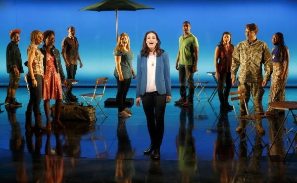 The other characters in  If/Then  spend a lot of time talking about how awesome Idina Menzel's character is.
