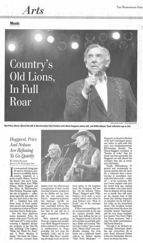 The Washington Post,  Sept. 8, 2007