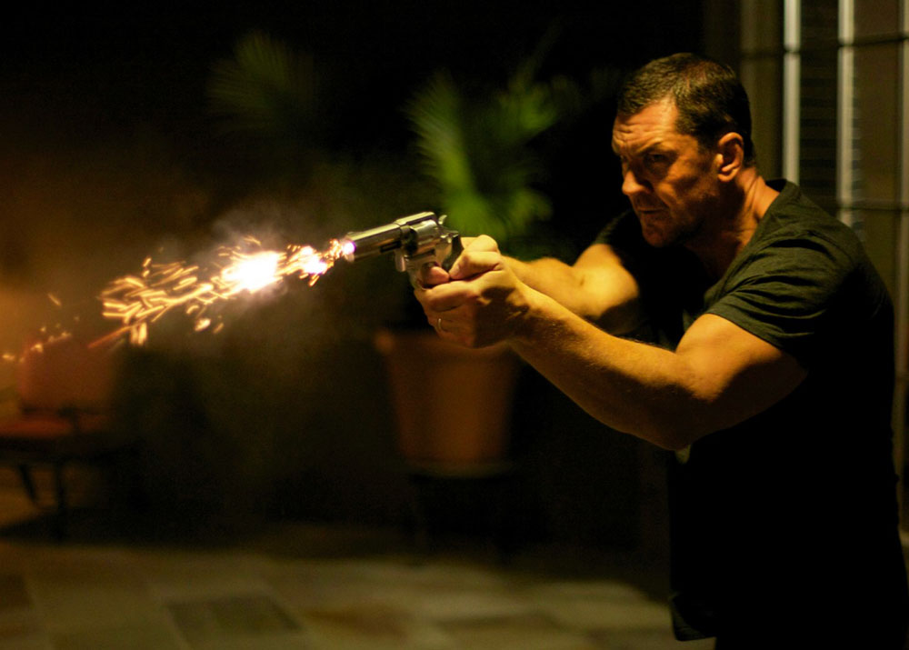 Flame-Spitting Revolver and Craig Fairbrass co-star in  The Outsider.