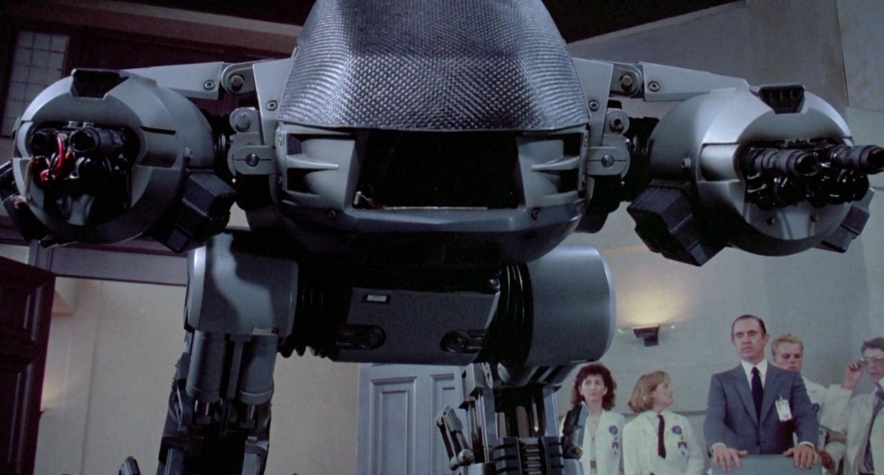 You have 20 seconds to comply, and then I will shoot you anyway.(RoboCop Archive)