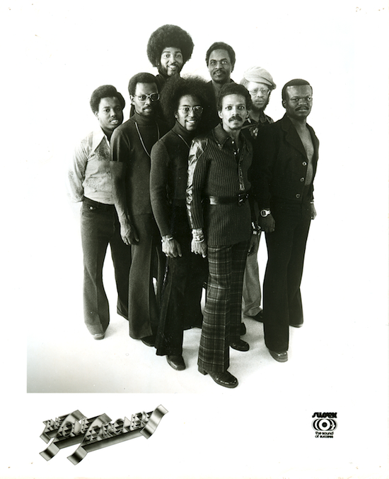 1974 promo shot. Donald TIllery is on the far right.