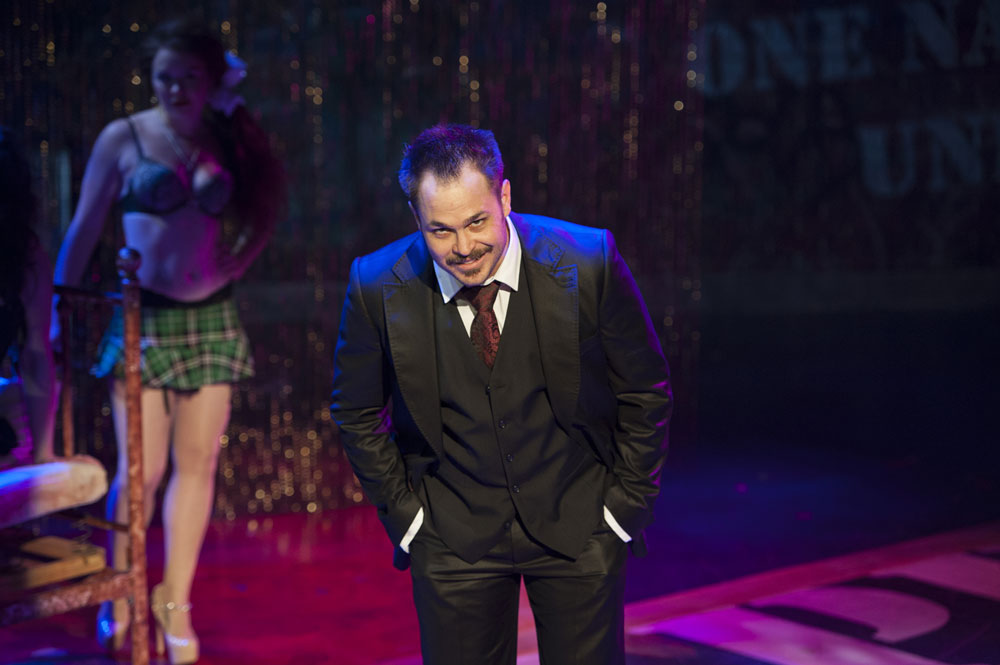 Mitchell Jarvis as MacHeath (Margot Schulman)