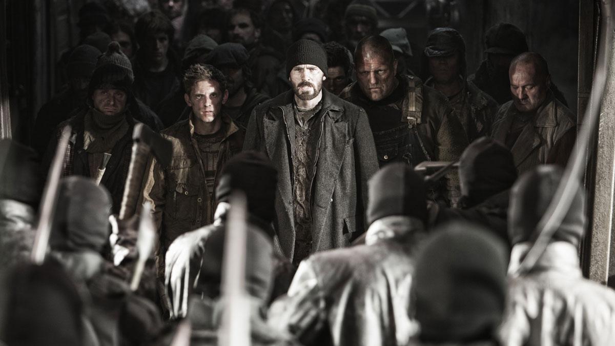 Chris Evans leads an international cast in Bong Joon-ho's  Snowpiercer.