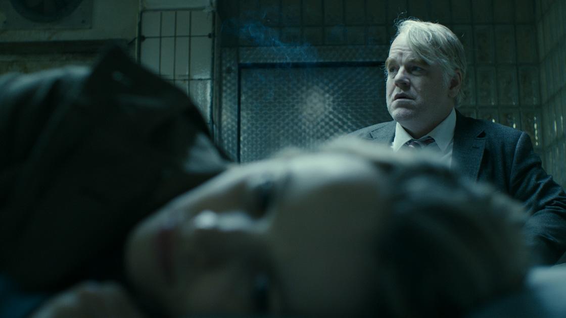 Rachel McAdams & the late Phillip Seymore Hoffman in Anton Corbijn's  A Most Wanted Man.