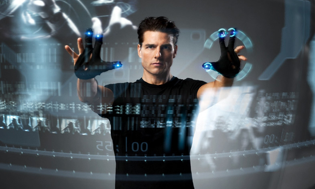 Minority Report,  Steven Spielberg's most Hitchcockian film, was all about not being able to trust what you were seeing.
