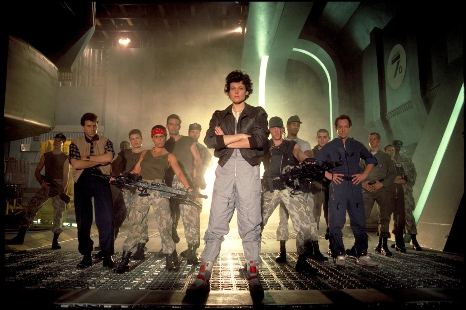 I bet all my chips on Sigourney Weaver and the cast of James Cameron's  ALIENS,  the 6th-best summer blockbuster.