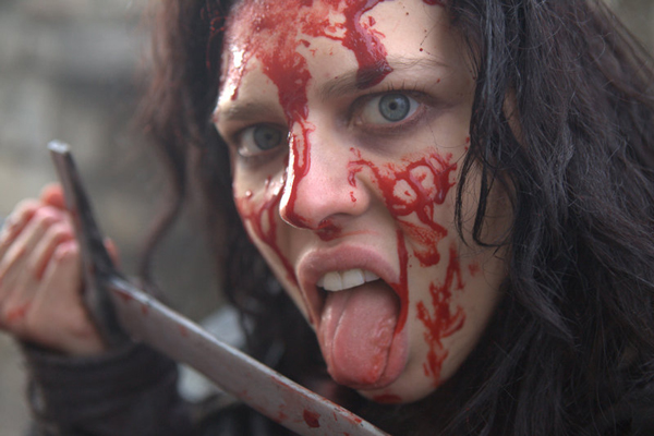 What's in a name? Twinnie Lee Moore (!) as Crazy Mary (!!) in Ironclad: Battle for Blood.