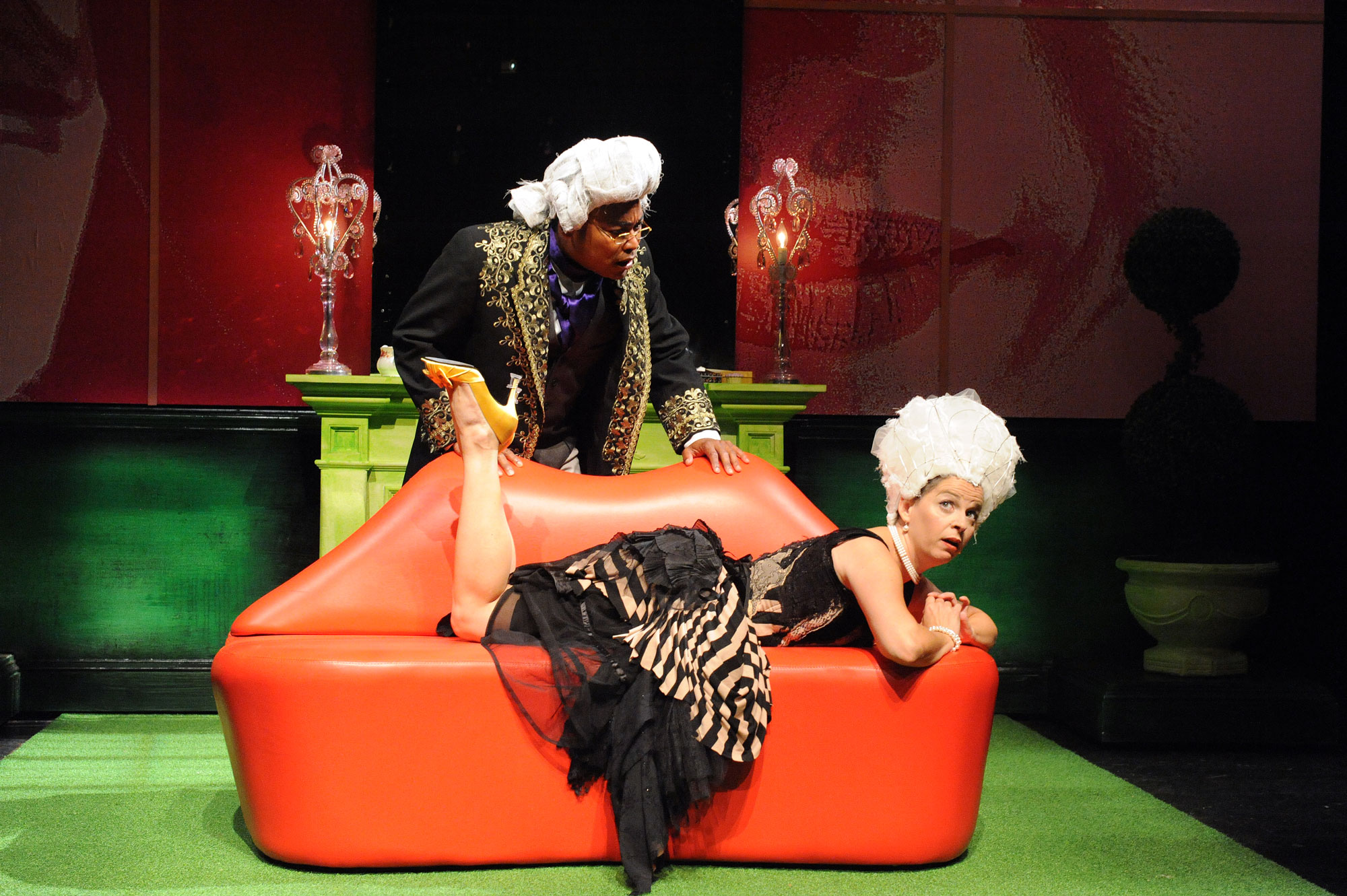 Gavin Lawrence and Kimberly Gilbert in  Marie Antoinette