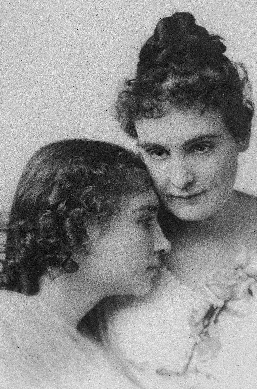 Helen Keller & Anne Sullivan, undated.