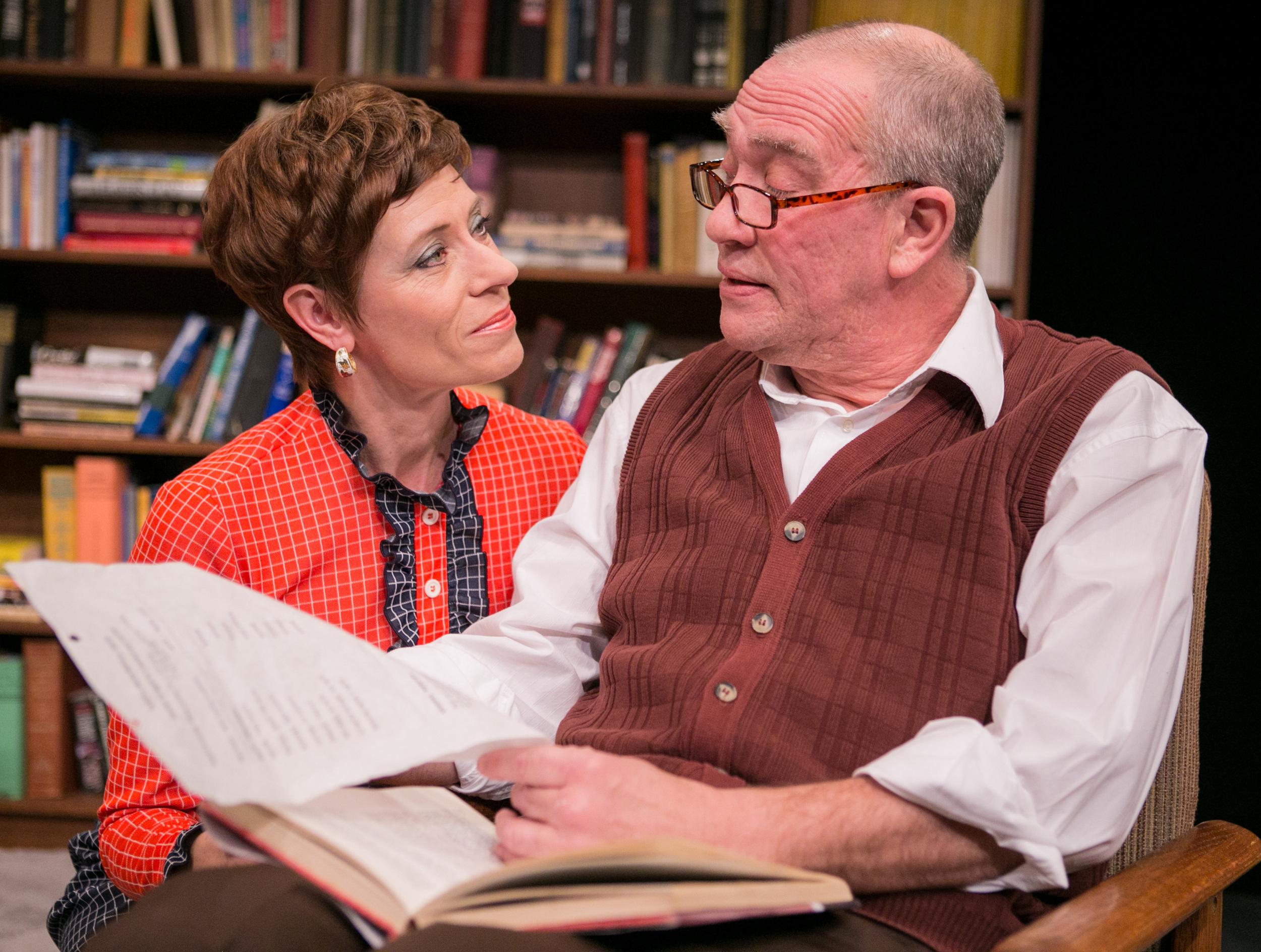 Julie-Ann Elliott & Conrad Feininger in  In Praise of Love.