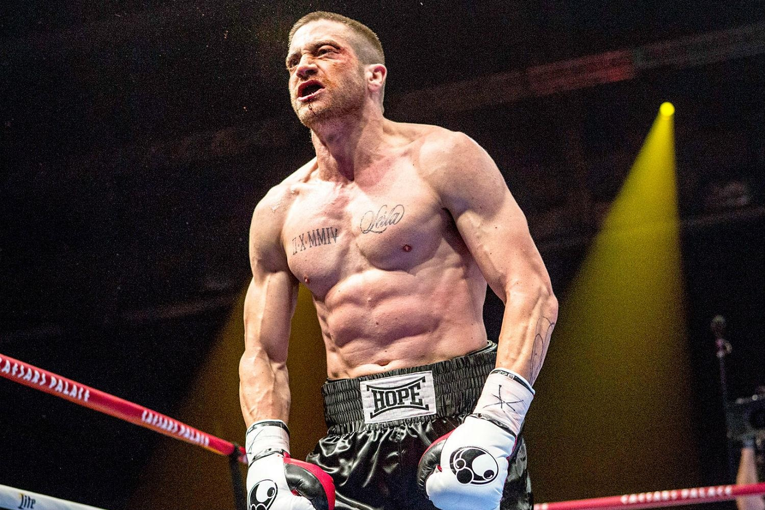 Like Robert De Niro and Daniel Day-Lewis before him, Jake Gyllenhaal transformed his body to play a boxer.