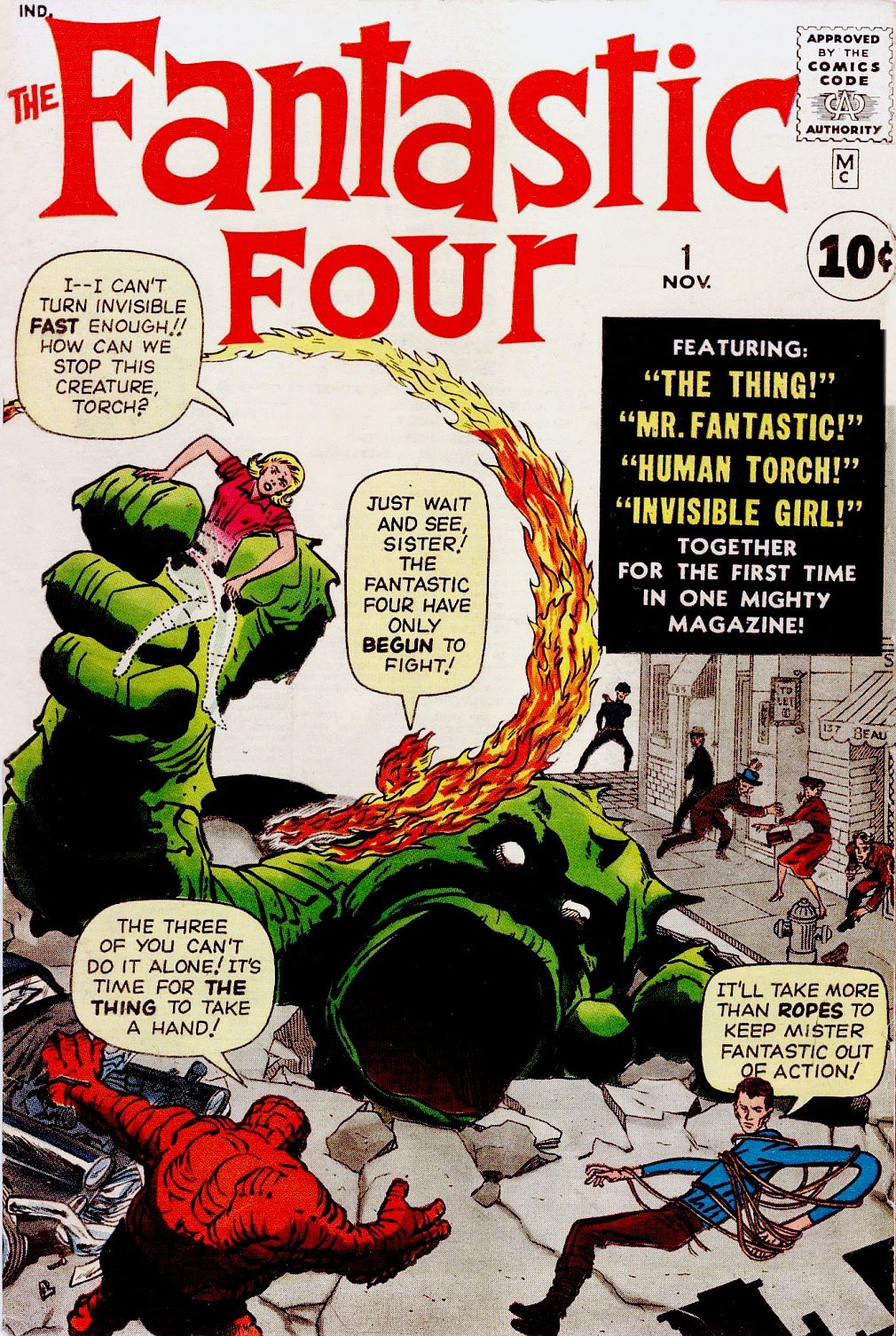 Stan Lee & Jack Kirby's  Fantastic Four  No. 1 hit newsstands on Aug. 8, 1961.