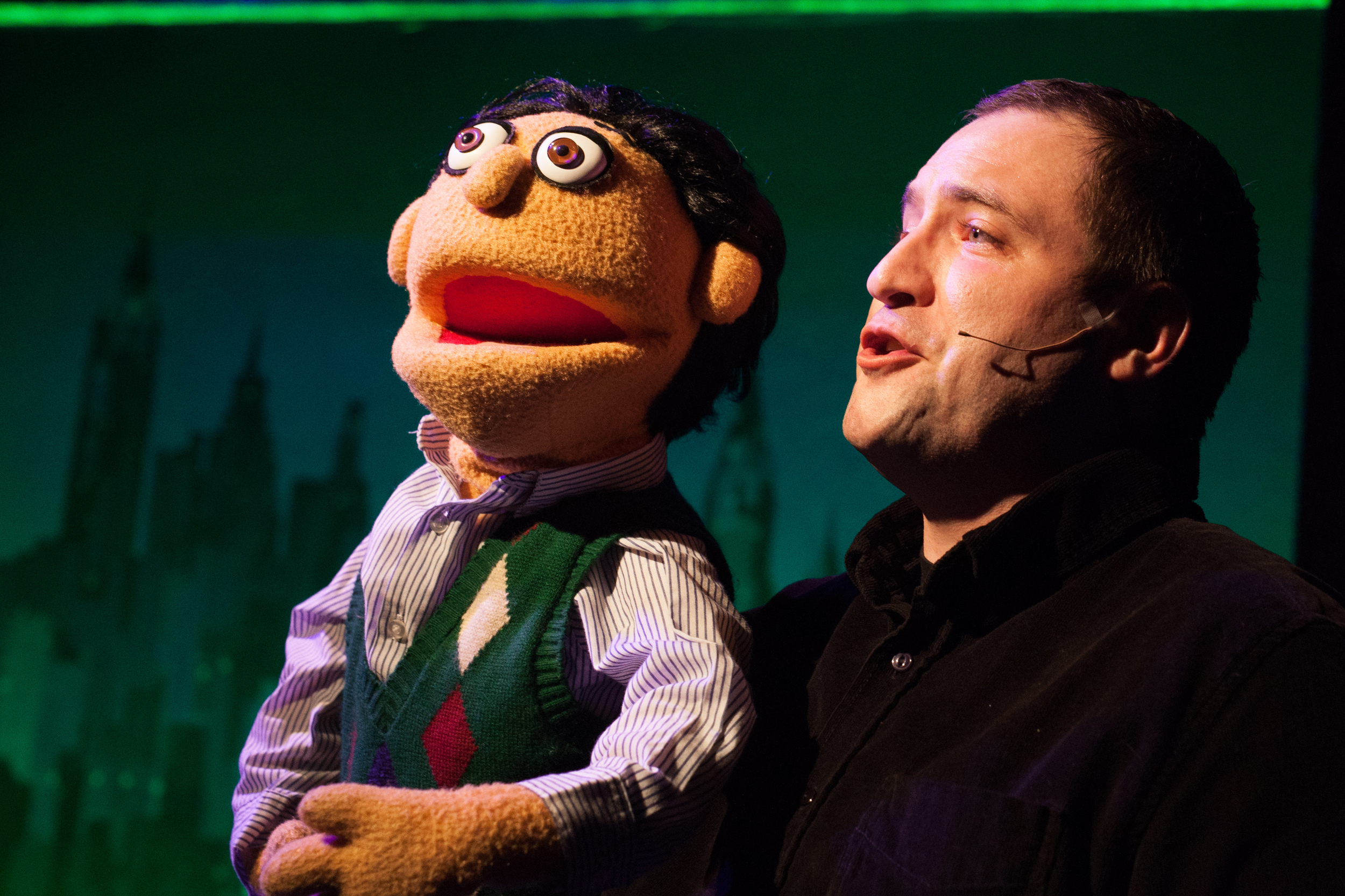 Matt Dewberry as Princeton in  Avenue Q.  (Stan Barouh)