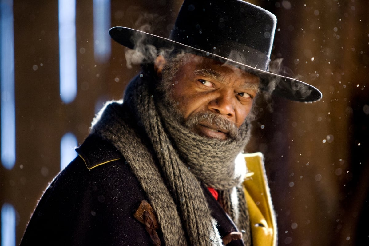Samuel L. Jackson in  The Hateful Eight.  (The Weinstein Co.)