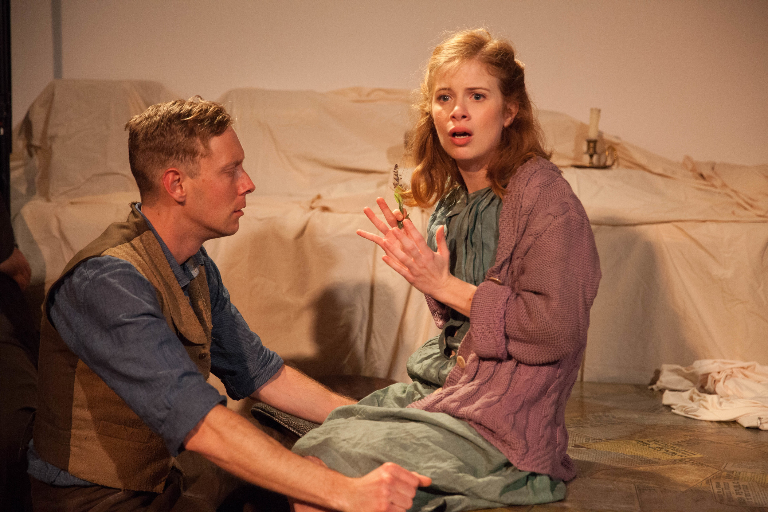 Dylan Morrison Myers and Megan Graves play young revolutionaries in  Wild Sky  (Solas Nua).