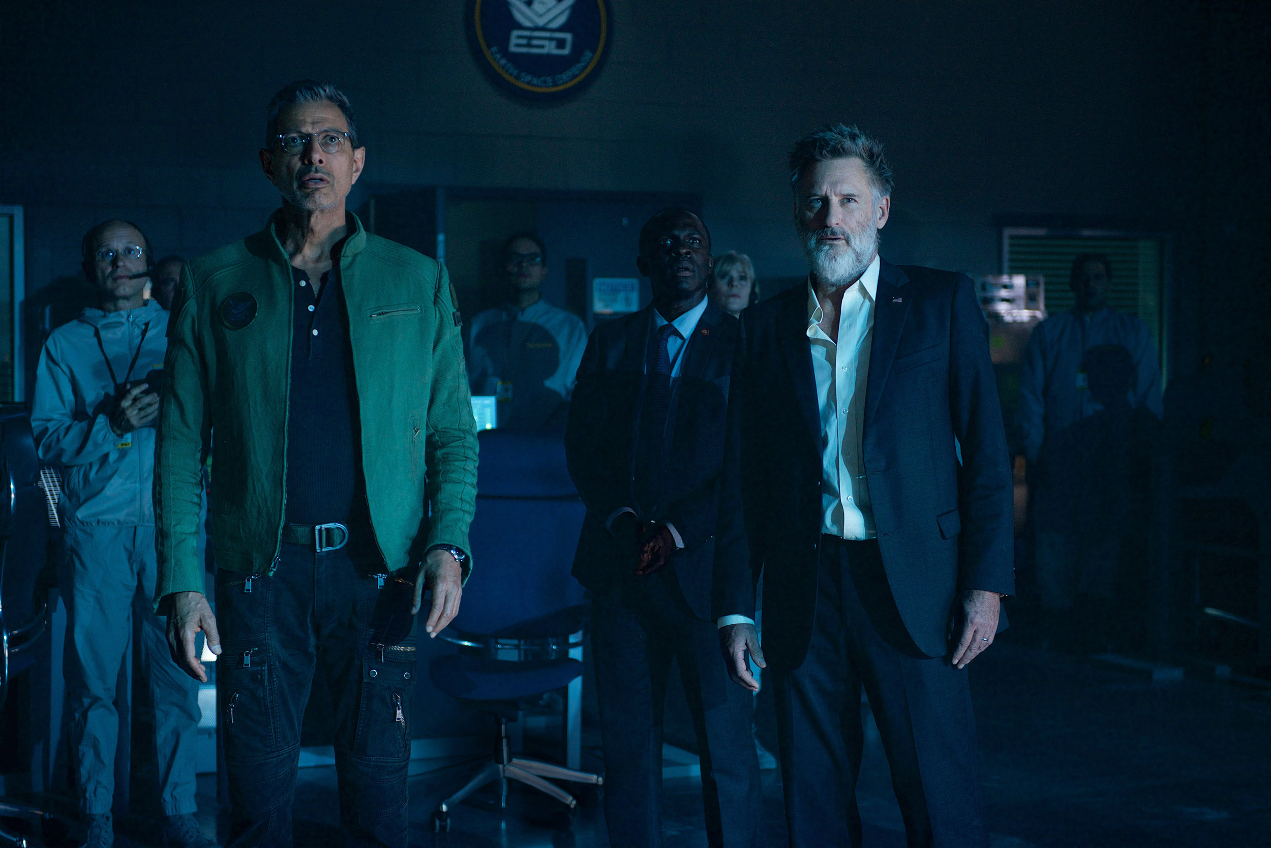 Jeff Goldblum and Bill Pullman showed up for the 20-years-later sequel to  Independence Day.