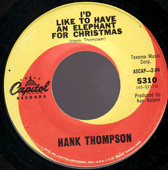 Hank Thompson - Elephant for Christmas.jpg