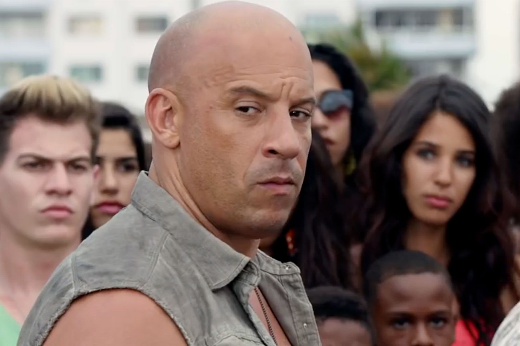 Xander Cage as Dominic Toretto. (Universal)