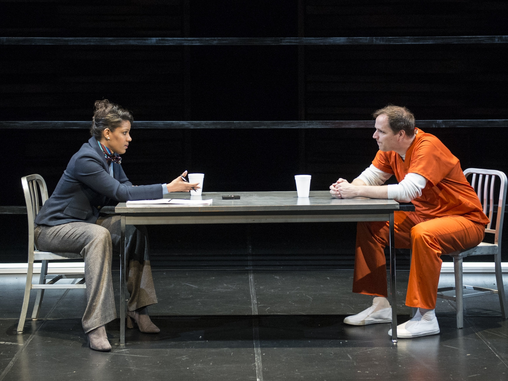 Tracey Conyer Lee and Eric Messner. (Teresa Castracane/Forum Theatre)