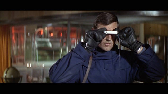 One-and-done 007 George Lazenby in 1969's  On Her Majesty's Secret Service.