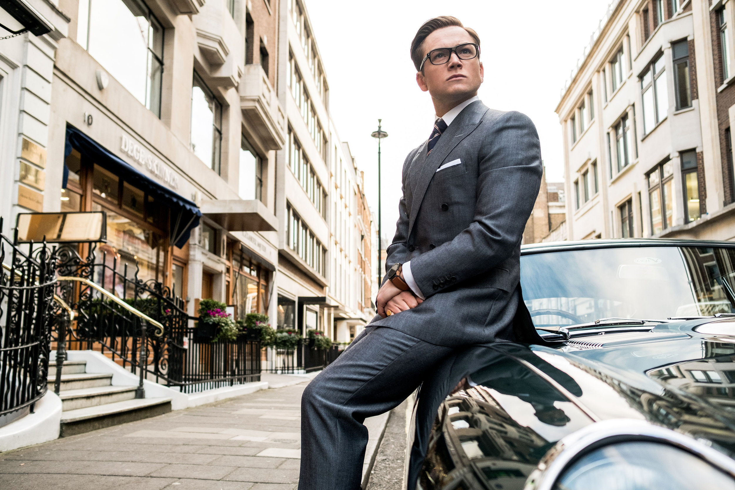 Taron Egerton, the very model of a modern British nongovernmental superspy.