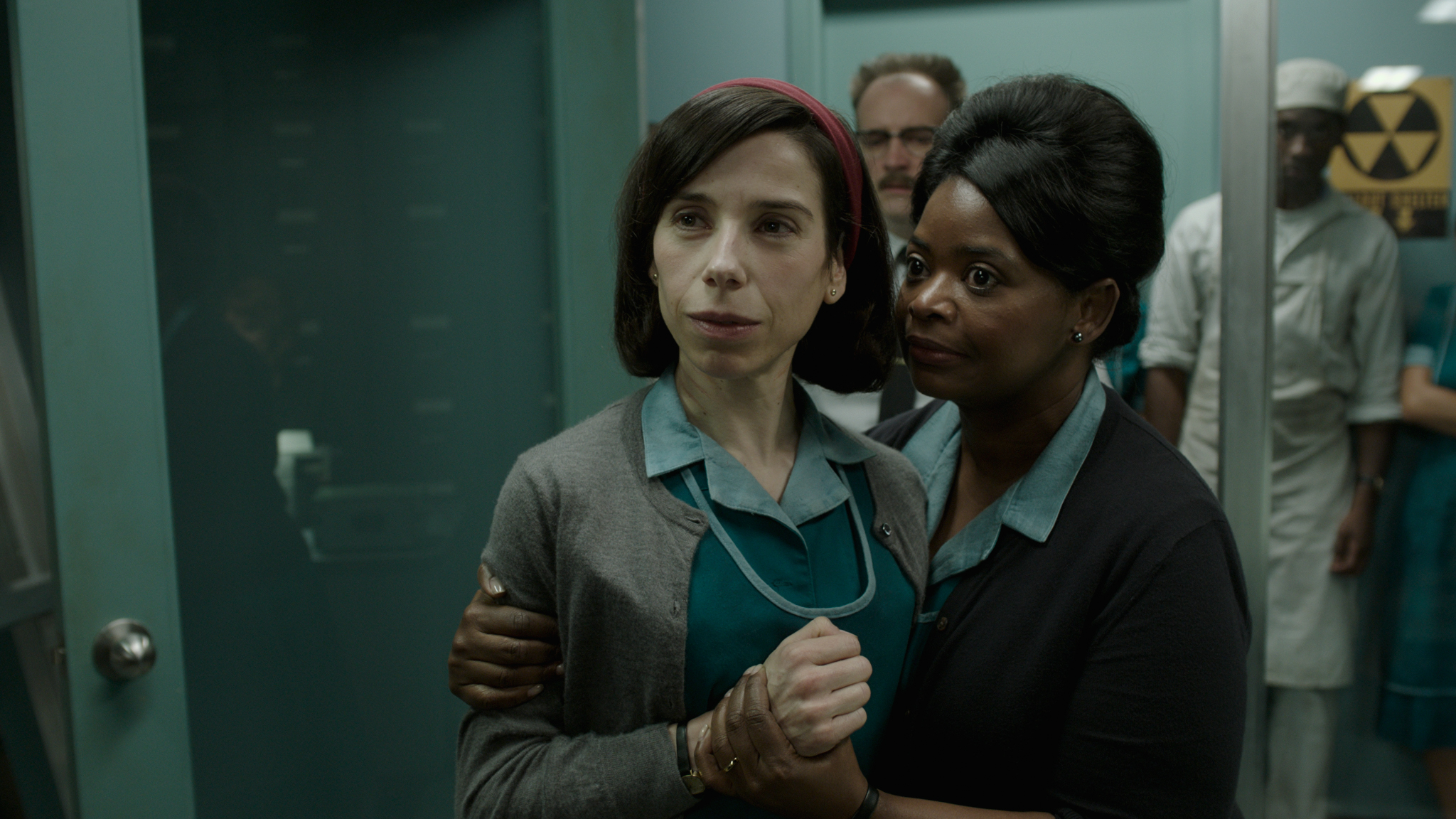 Sally Hawkins and Octavia Spencer play janitors at a secret government facility. (Fox Searchlight)